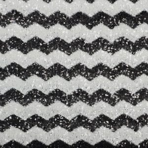 Chevron Glitz Sequins black