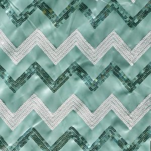 Chevron Sequins mint