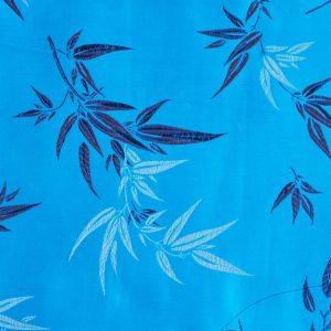 Chinese Jacquard Bamboo turquoise