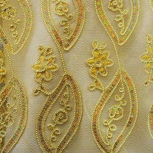 Coco Mango Fabric gold