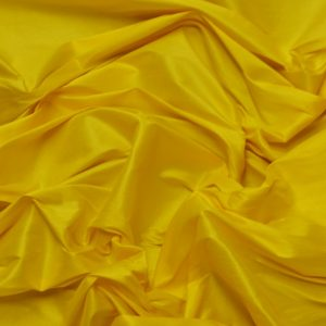 Faux Silk yellow