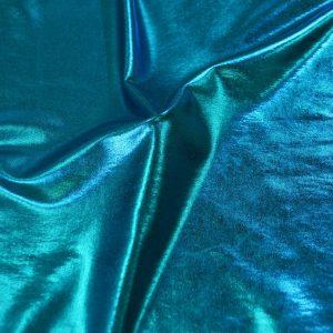 Foil Spandex Lame turquoise