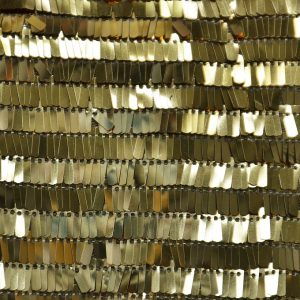 Fringe Sequins Fabric gold