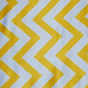 L Amour Satin Chevron pride yellow