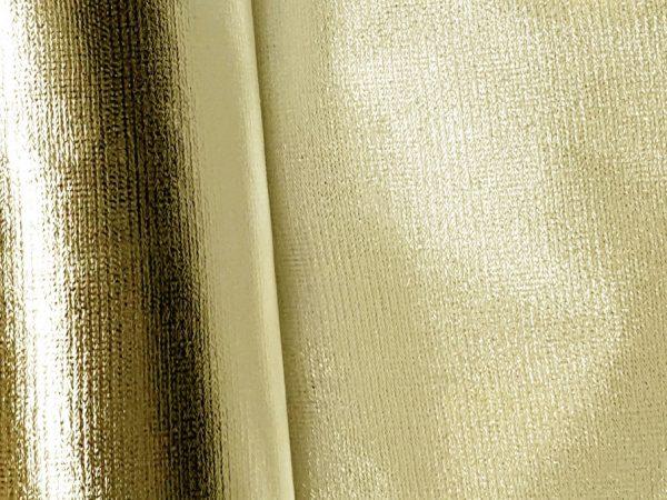 Liquid Lame white gold stiff