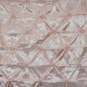 Pinwheel Button Taffeta blush