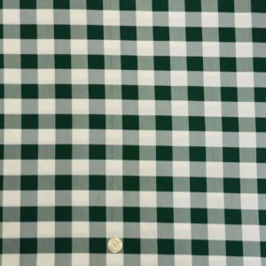 Poly Picnic Checkers hunter green