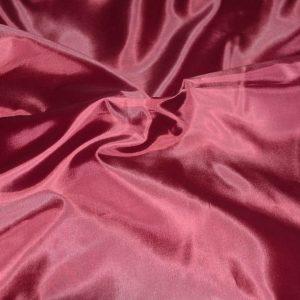 Polyester Habotai Lining burgundy