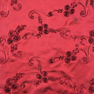 Ribbon Taffeta burgundy