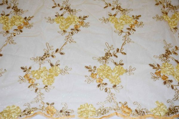 Ruby Embroidery gold