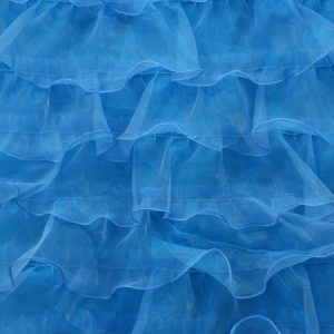 Ruffled Mesh turquoise