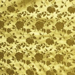 Satin Brocade Jacquard dark gold