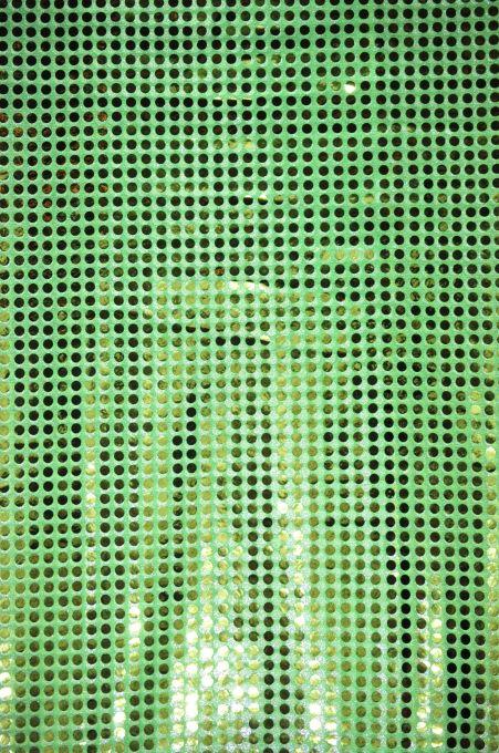 Sequins 6MM neon green