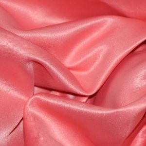 Stretch Poly Satin coral