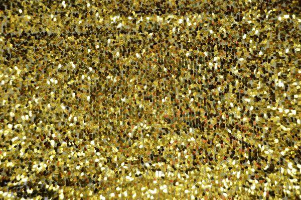 Tear Drop Sequins gold