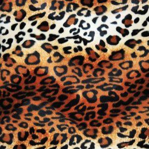 Velboa Print leopard brown