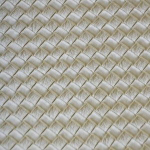 Waffle Weave Vinyl champagne
